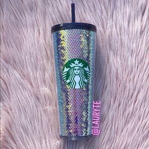 Starbucks 2020 Holiday Purple Sequin Tumbler